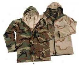Stashable™ Reversible Gre-tex® Fabric Parka Woodland To Desert 3 Camo