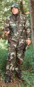 Stashaway Ii™ Best Defense® Gore-tex® Fabroc Rainsuit Parka - Woldland Camo