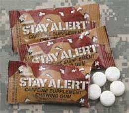 Stay Alert® Fatigue-fighting Gum - 24 Pack (120 Pieces)