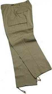 Street Ready™ Bdu Trousers, 100% Cotton-wool Ripstop Poplin - Khaki