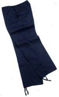 Street Ready™ Bdu Trousers, 100% Cototn Ripstop - Navy