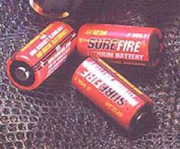 Surefire® Dl123a 3-volt Lithium Battery - Two Pack