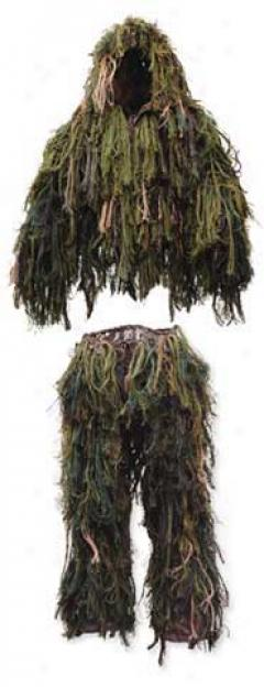 Synthetic Burrlap Ghillie Jacket