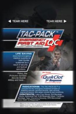 Tac-pack™ Qc Medical Pack W/quikclot®