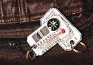 Therm-o-compass® Zipper Pull
