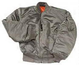 Usaf Ma-1 Sttyle Reversible Insulated Flight Jacket