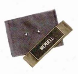 Woolly Pully® Sweatre Eyeketed Badge Patch, 1.5'' X 5''