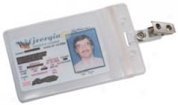Zip Closure Government/ Military Id Holder, 2-pack